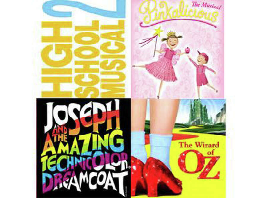 """Summer Theatre of New Canaan will have auditions for """"High School Musical 2"""" and """"Joseph and the Amazing Technicolor Dream Coat"""" March 10 and 31. Also playing this summer will be """"Pinkalicious"""" and """"the Wizard of Oz."""" Photo: Contributed Photo"""