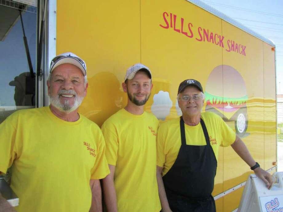Frank, Bill & Brian Sills of Sills Snack Shack. Photo: Jessica Elizarraras