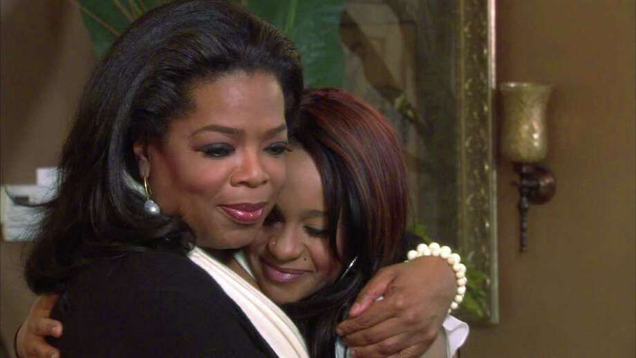 Oprah Winfrey and Whitney Houston's daugher Bobbi Kristina Photo: Courtesy Harpo
