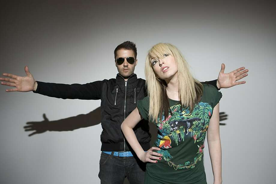 The Ting Tings Photo: Sony