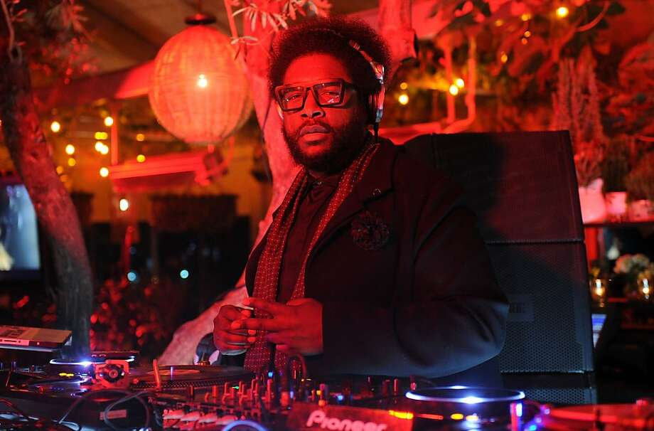 WEST HOLLYWOOD, CA - FEBRUARY 12:  DJ Ahmir 'Questlove' Thompson performs inside the VEVO Presents I'm With the Band post-GRAMMYs party sponsored by Nike+ Fuelband on February 12, 2012 in West Hollywood, California.  (Photo by Jason Merritt/Getty Images for VEVO) Photo: Jason Merritt, Getty Images For VEVO