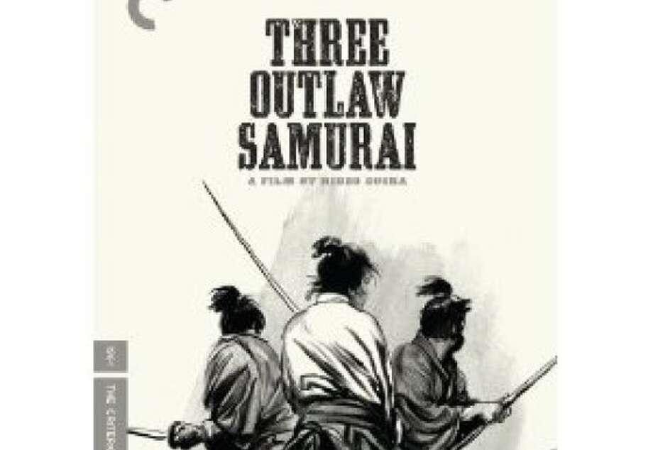 dvd cover THREE OUTLAW SAMURAI Photo: Criterion Collection, Amazon.com