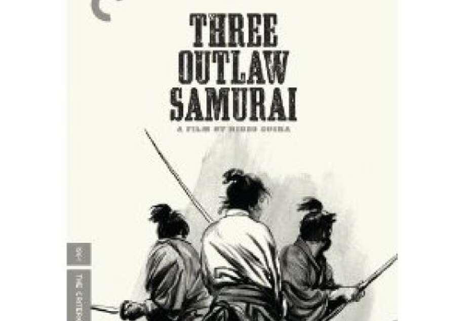 dvd cover THREE OUTLAW SAMURAI Photo: Criterion Collection, Amazon.com