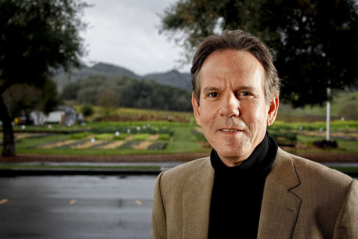 Thomas Keller owner of The French Laundry, Ad Hoc, Bouchon, and Per Se is seen on Monday, Feb. 13, 2012 in Yountville, Calif.
