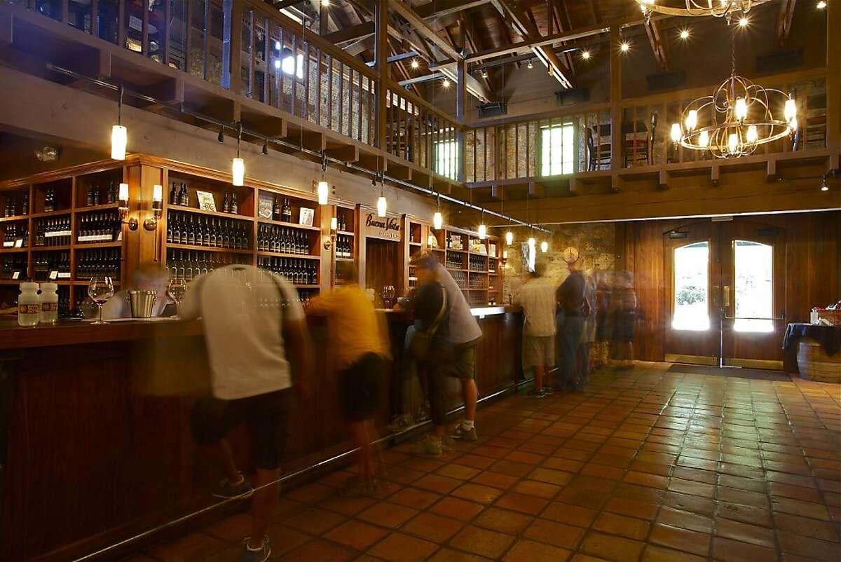 The Buena Vista Winery tasting room in Sonoma, Calif.