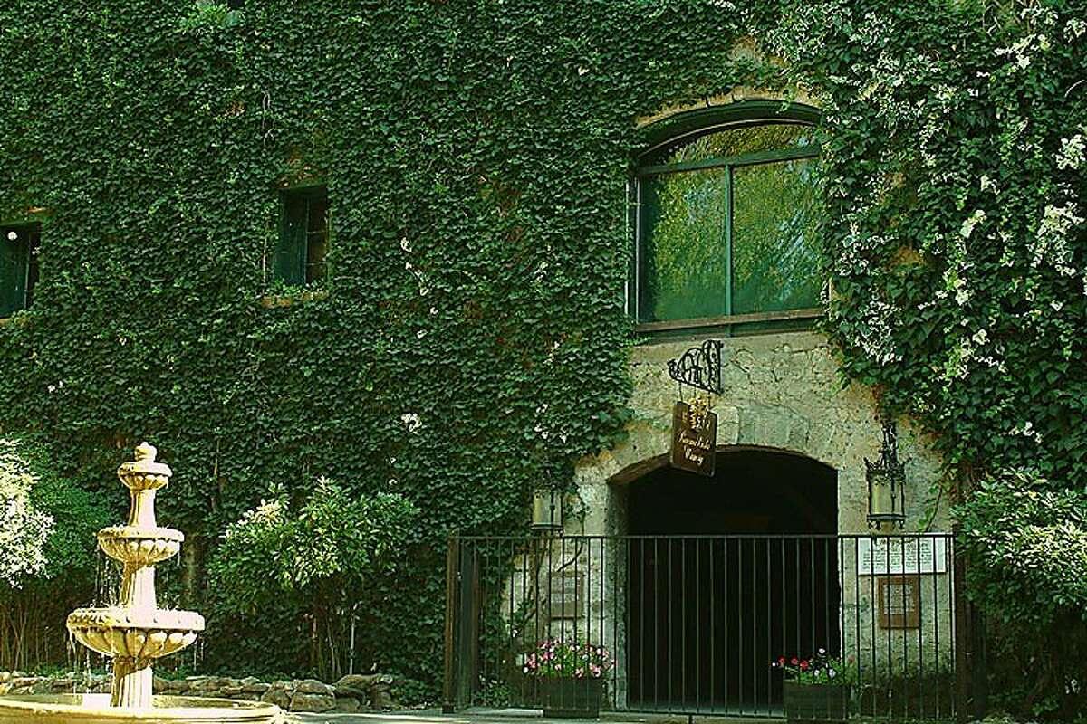 The historic cellar at the Buena Vista Winery in Sonoma, Calif.