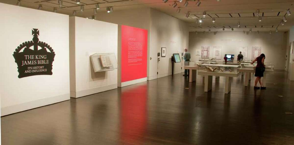 The Harry Ransom Center's exhibition The King James Bible: Its History and Influence.