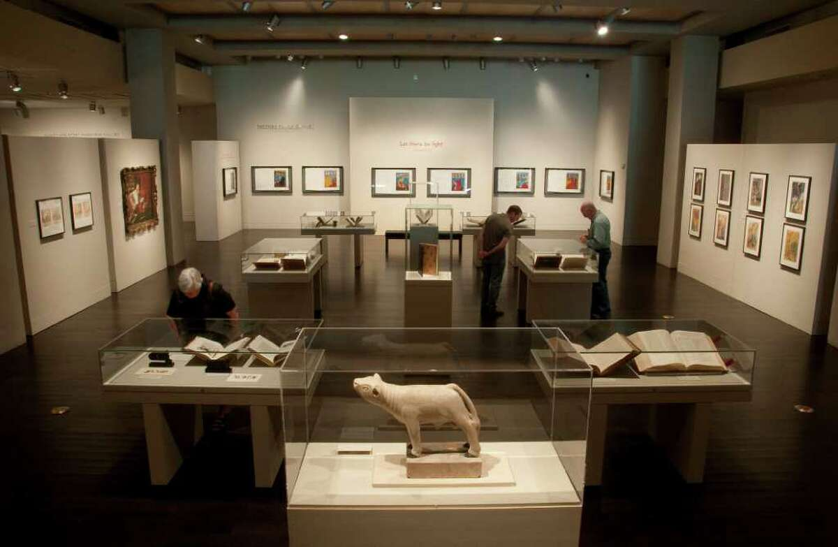 Ransom exhibit: The Harry Ransom Center's exhibition The King James Bible: Its History and Influence.