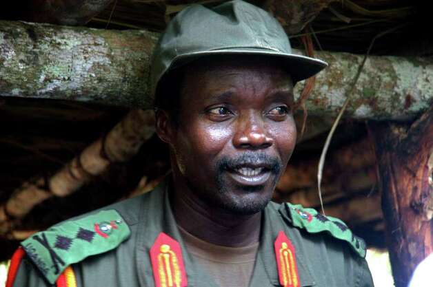 No. 9 in the world: Joseph Kony Photo: STR / AP2006