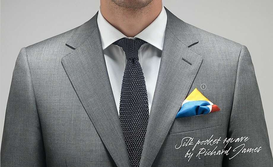 MR PORTER.com, a men's retail and content offshoot of Net-A-Porter.com, is selling limited-edition pocket squares featuring 10 designers that have designed exclusive pocket squares available to buy on site individually, or as a part of a very limited edition set. Photo: Mr Porter