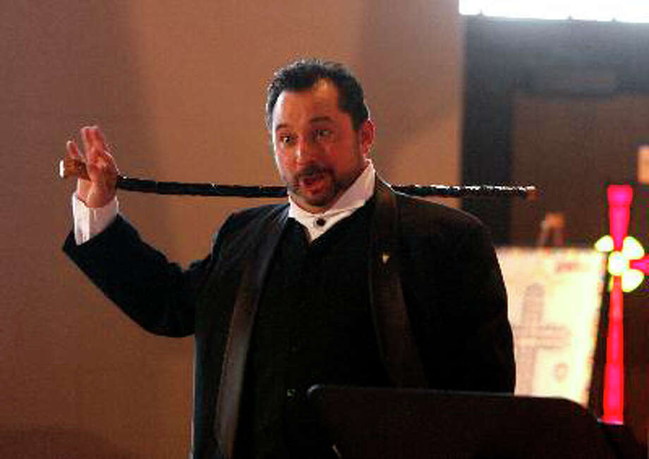 """Tenor Matthew Surapine, of Norwalk, will sing an array of Irish songs along with his partner, tenor Jim Russell, during """"An Irish Tale,"""" on Friday, March 16, at the Bijou Theatre in Bridgeport. Photo: Contributed Photo / Connecticut Post Contributed"""