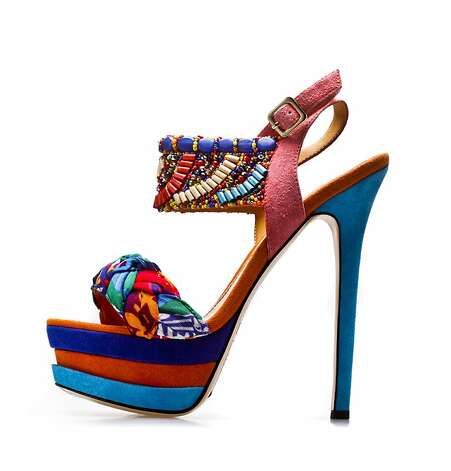 The Java is part of shoe designer Eric Rutberg's spring line called Transparent.  Shoes designed by Eric Rutberg are seen on Thursday, March 1, 2012 in San Francisco, Calif. Photo: Russell Yip, The Chronicle