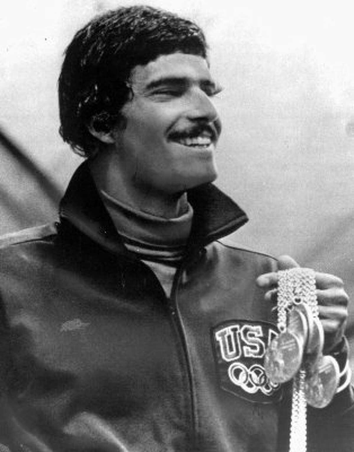 Mark Spitz, swimming: The Sacramento and Santa Clara native won nine gold medals from 1968-1972.