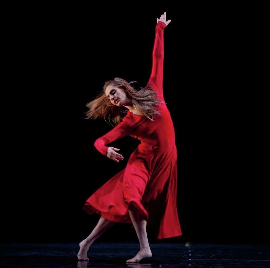 Houston Ballet's Melissa Hough is also a budding choreographer, composing pieces for the ballet's Choreographic Workshop. Look for a big commission soon.  Photo: Amitava Sarkar / Amitava Sarkar