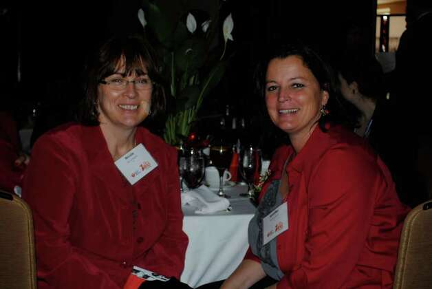 The Go Red for Women luncheon for Westchester-Fairfield American Heart Association was held at the Hyatt Regency in Greenwich on March 8. Photo: Lauren Stevens/Hearst Connecticut Media Group