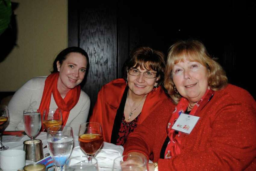 The Go Red for Women luncheon for Westchester-Fairfield American Heart Association was held at the Hyatt Regency in Greenwich on March 8.