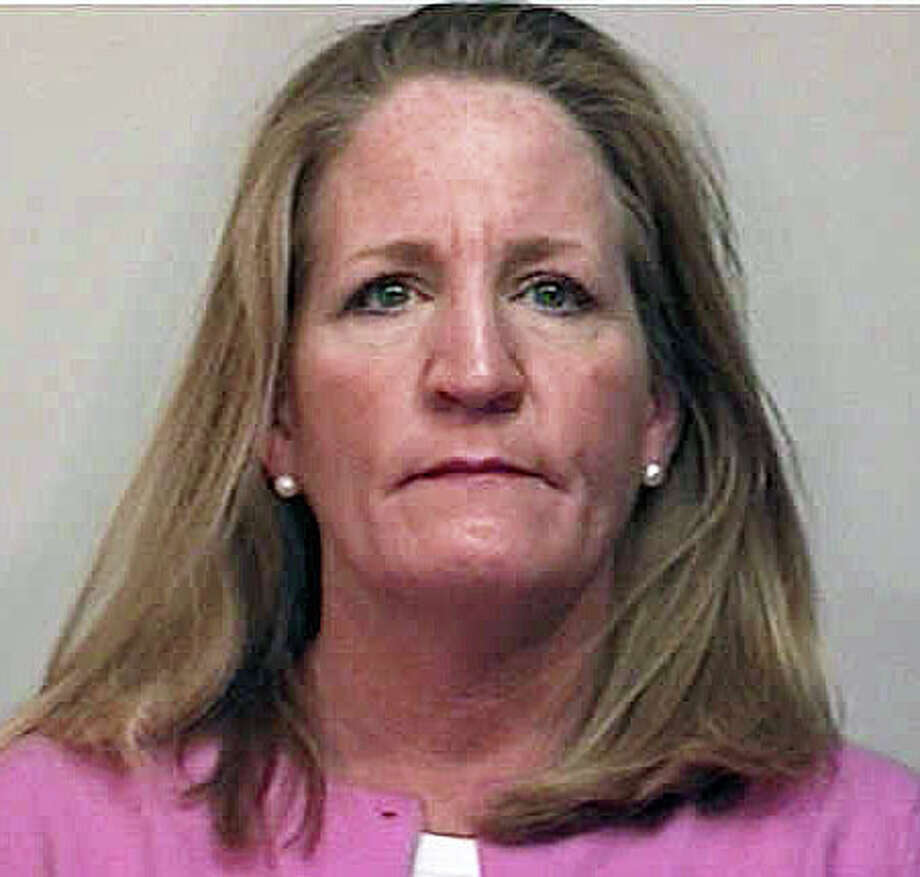 Rebecca Larew, 48, has been charged with stealing packages from porches and mailboxes last December. Photo: Contributed Photo / Fairfield Citizen