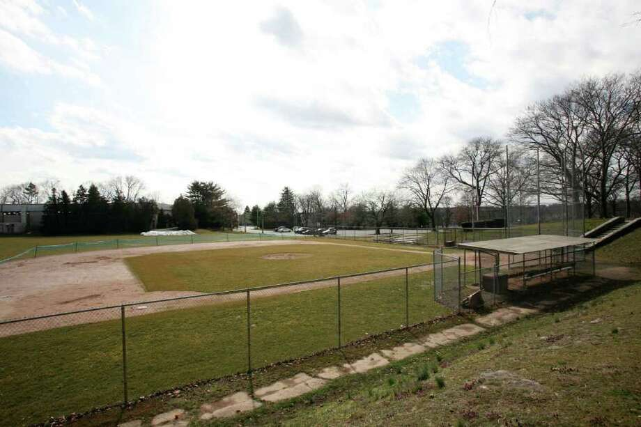 A group of Byram residents are petitioning the Board of Selectman to name this baseball field next to the Dorothy Hamill Skating Rink after Sal Strazza, who helped found the local Babe Ruth league nearly 30 years ago. The field is pictured on Friday, March 9, 2011. Photo: David Ames / Greenwich Time