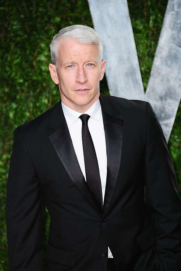 WEST HOLLYWOOD, CA - FEBRUARY 26:  TV personality Anderson Cooper arrives at the 2012 Vanity Fair Oscar Party hosted by Graydon Carter at Sunset Tower on February 26, 2012 in West Hollywood, California.  (Photo by Alberto E. Rodriguez/Getty Images) Photo: Alberto E. Rodriguez, Getty Images