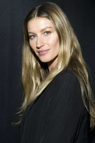 Gisele Bundchen on Feb. 11, 2012, age 31. Over a decade later, she's married to quarterback Tom Brady, has two kids and is still one of top-earning models in the world.  (Charles Sykes / Associated Press)