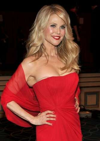 Model Christie Brinkley on February 8, 2012 in New York City, age 58. (Theo Wargo / Getty Images for Heart Truth)