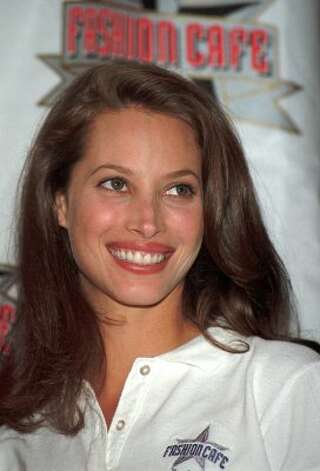 Supermodel and Bay Area native Christy Turlington in 1995, age 26. (Paul Hurschmann / ASSOCIATED PRESS)