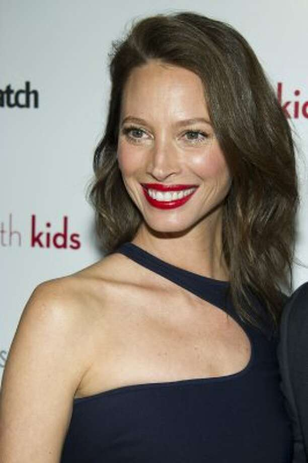 Christy Turlington on March 5, 2012, at age 43. Turlington still models, but she devotes most of her time to her organization Every Mother Counts, which aims to increase education and support for maternal mortality reduction globally.  (Charles Sykes / Associated Press)