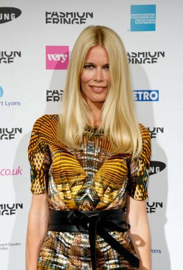 Claudia Schiffer on September 17, 2011, age 41. (Ian Gavan / Getty Images)