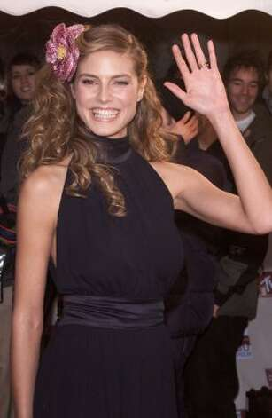German model Heidi Klum arrives at the MTV European Music Awards in 1999, age 26. (Dave Hogan / Getty Images)