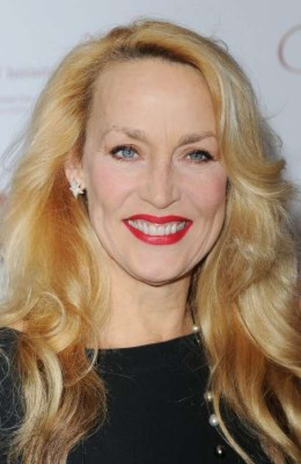 Jerry Hall in December, 2011, age 55. (Stuart Wilson / Getty Images)