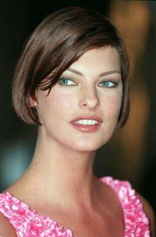"Canadian model Linda Evangelista famously said she didn't ""wake up for less than $10,000"" during the height of her fame. Here she is in 1995, age 29. (AFP/Getty Images)"