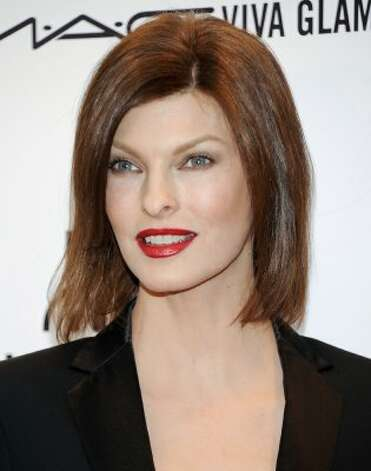 Model Linda Evangelista on Feb. 8, 2012, age 46. (Evan Agostini / Associated Press)