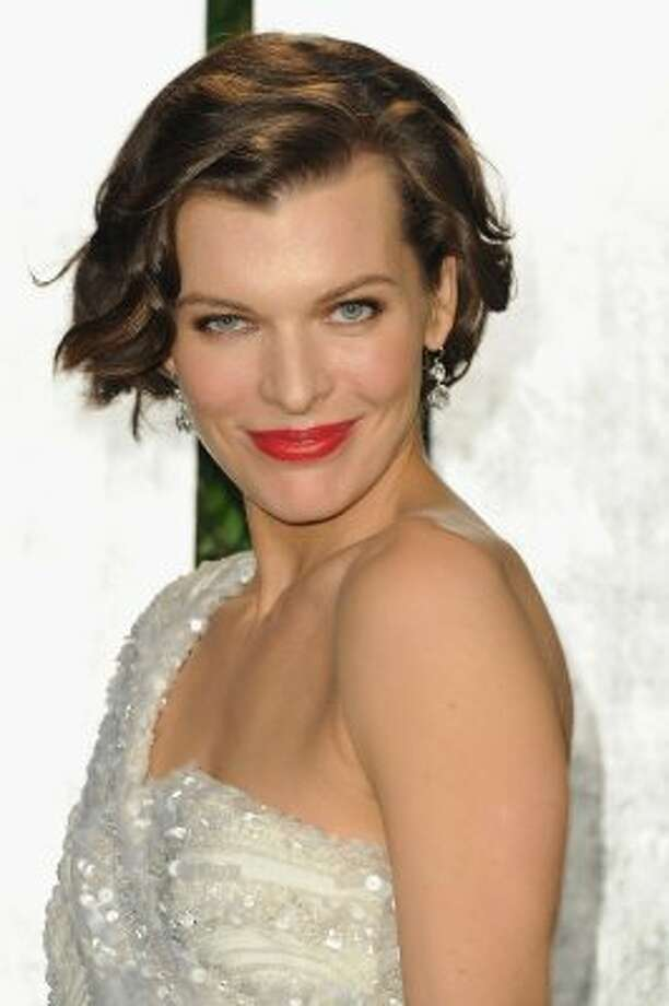 Milla Jovovich, now better known as an actress, on February 26, 2012 at age 36.  (Pascal Le Segretain / Getty Images)