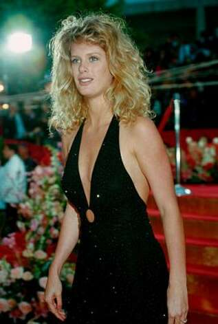 New Zealand model Rachel Hunter in 1993, age 23. She's best known as a Sports Illustrated swimsuit model — and Rod Stewart's former wife.  (ASSOCIATED PRESS)