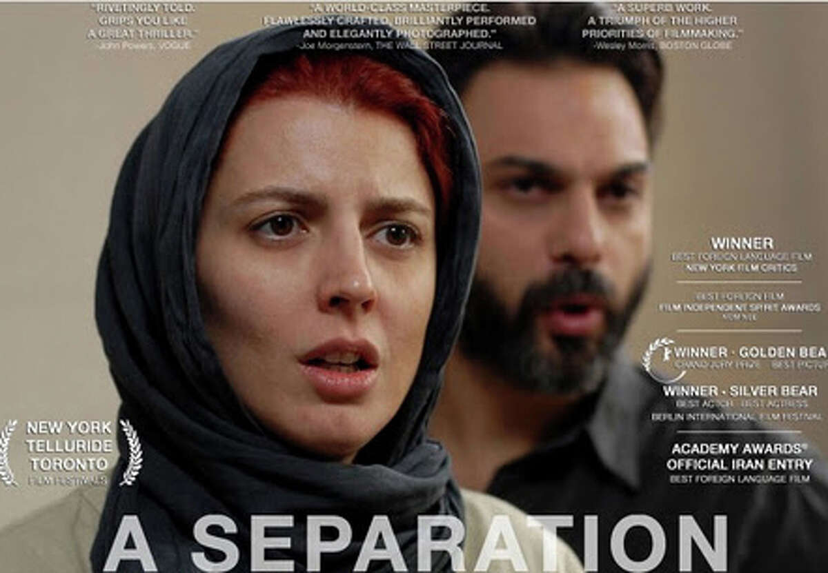 """""""A Separation,"""" a movie from Iran that was this year's Academy Award winner for Best Foreign Film, is playing in area theaters."""