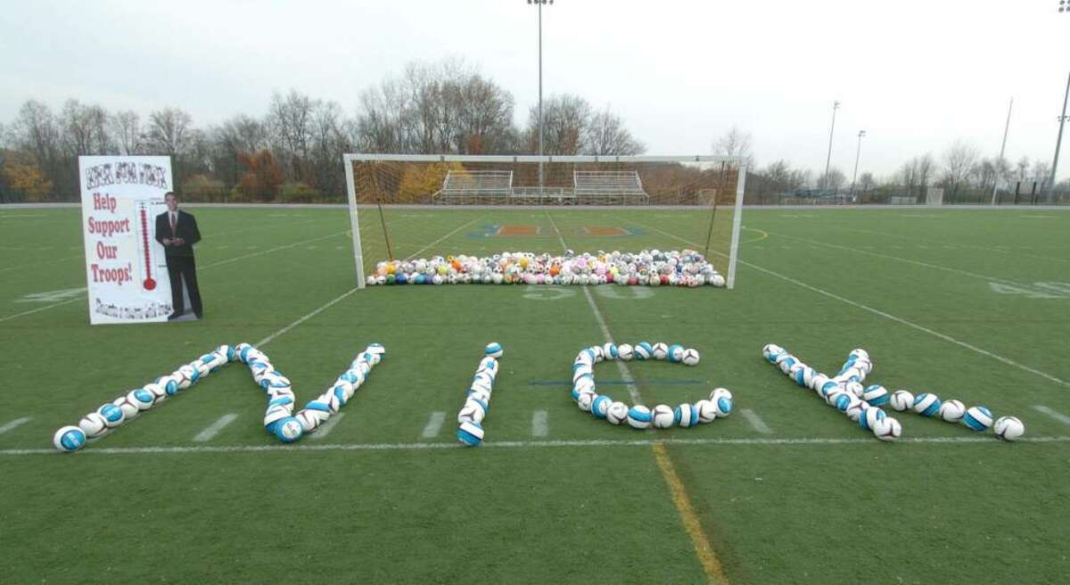 Ceremony for the late Nick Madaras, of Wilton at Danbury High Tuesday, Nov. 10, 2009.