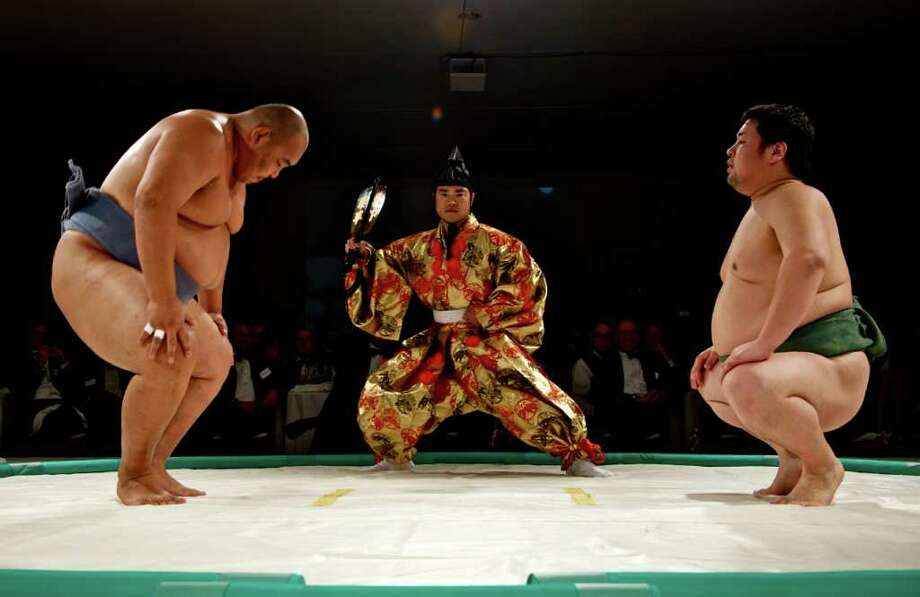 Sumo wrestling is one of 26 sports whose international federation submitted an application to join the 2020 Olympic Games in Tokyo. Take a look at all the sports vying for a spot, including a few that will seem completely unfamiliar to an American audience.Source: IOC   Photo: Pete Holley