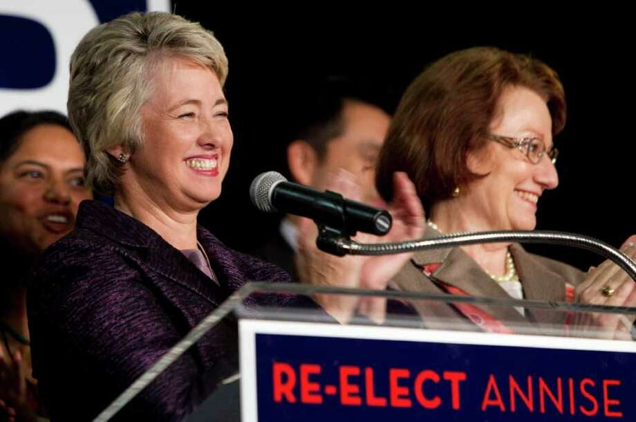 Houston Mayor Annise Parker says her decision to support same-sex marriage is guaranteed by her constitutional right to freedom of speech. Photo: Brett Coomer / © 2011 Houston Chronicle