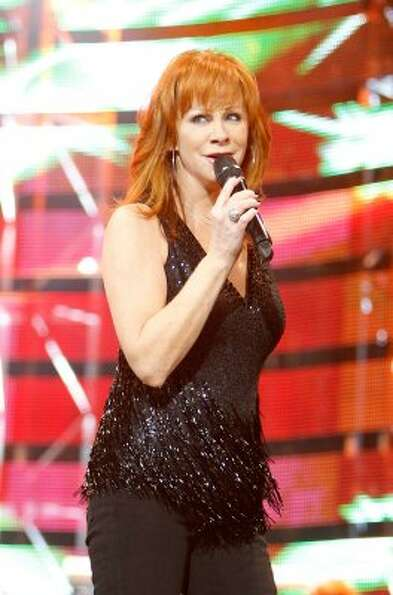 Reba McEntire performs at the Houston Livestock Show and Rodeo on March 9. (Mayra Beltran / Houston