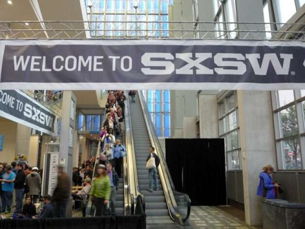 Day 1 of SXSW Interactive at the Austin Convention Center. (Sandra Santos)