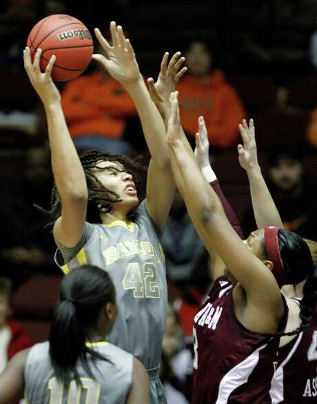 """Brittney Griner and Baylor captured their second straight Big 12 tournament title with a rout of A&M. """"We just played the best team in the country,"""" Aggies coach Gary Blair said. Photo: AP"""
