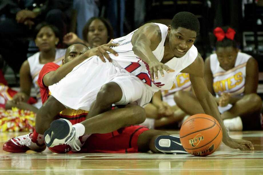 Dallas Kimball guard Torrey Henry Photo: Smiley N. Pool, Houston Chronicle / © 2012  Houston Chronicle