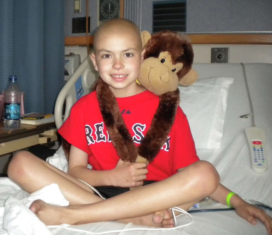 Teddy Gerber lost a nine-month battle against a rare form of cancer in 2010. In his memory, Team Teddy raises money for pediatric-canvcr research with an annual St. Baldrick's shearing at Osborn Hill School. This year's is Friday evening, March 23. Photo: Contributed Photo