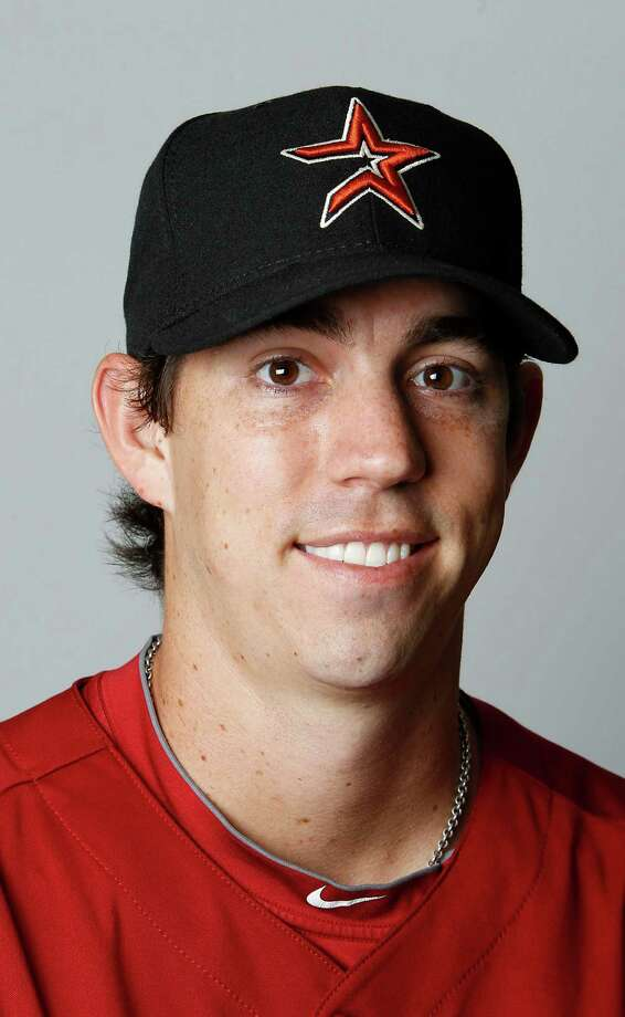 Houston Astros RHP Kyle Weiland (56) photographed during photo day at the Astros spring training complex at Osceola County Stadium on Tuesday, Feb. 28, 2012, in Kissimmee. ( Karen Warren / Houston Chronicle ) Photo: Karen Warren / © 2012  Houston Chronicle