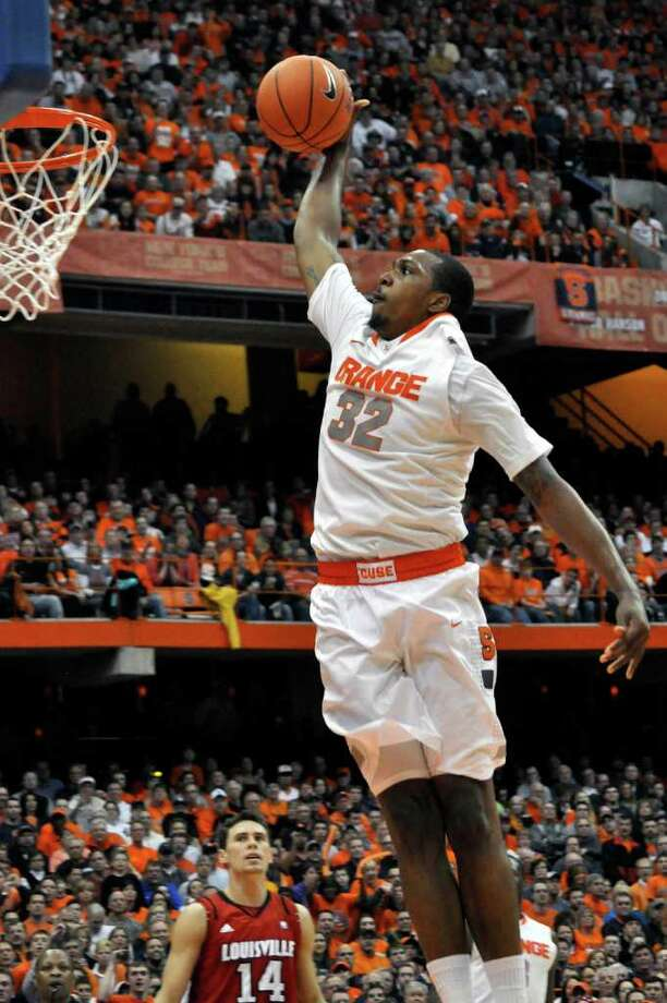 Senior Kris Joseph is the leading scorer for Syracuse, the East Region's top seed. Photo: Kevin Rivoli, Associated Press
