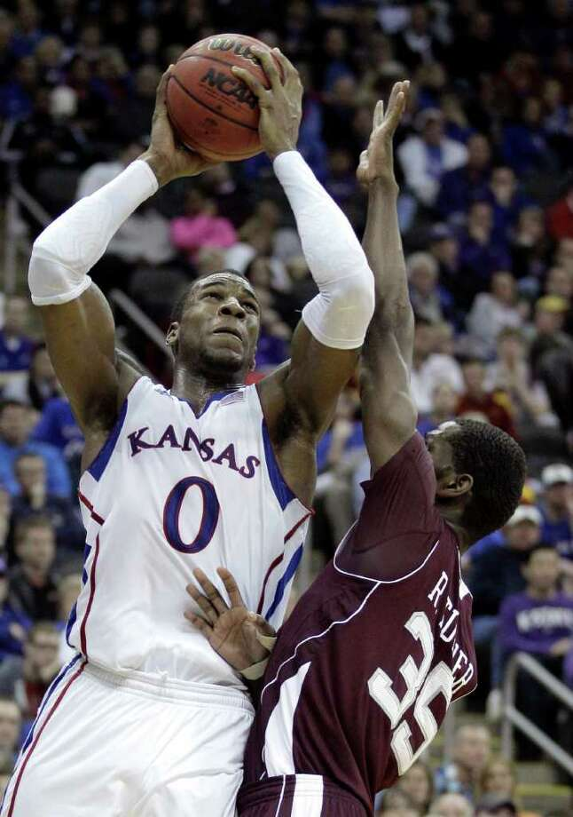 Kansas will need big production from Thomas Robinson to reach the Final Four. Photo: Charles Riedel, Associated Press