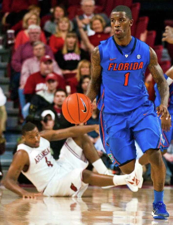 Kenny Boynton and Florida could meet second-seeded Missouri in the third round. Photo: April L. Brown, Associated Press