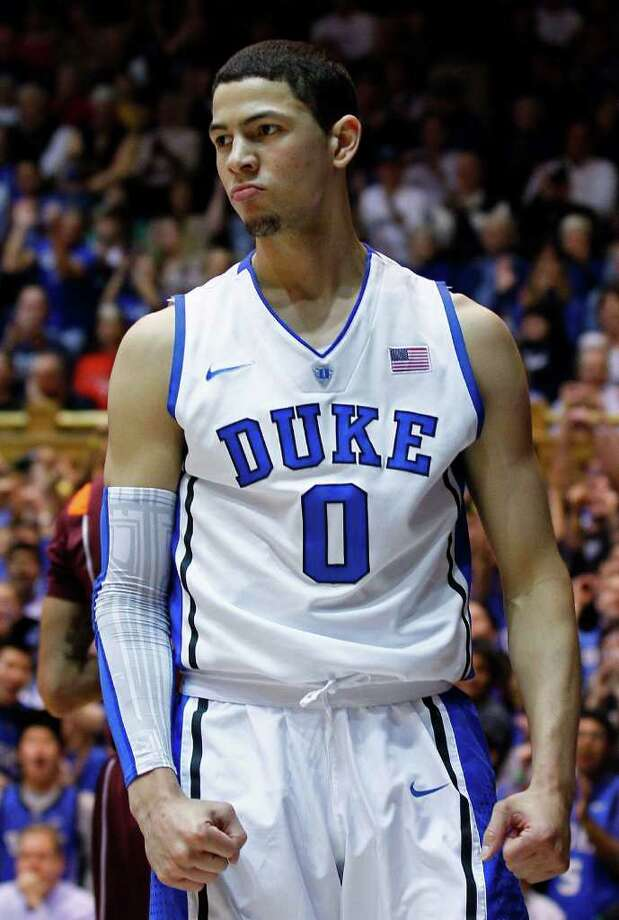 Duke freshman Austin Rivers leads the Blue Devils' charge toward another national title. Photo: Gerry Broome, Associated Press
