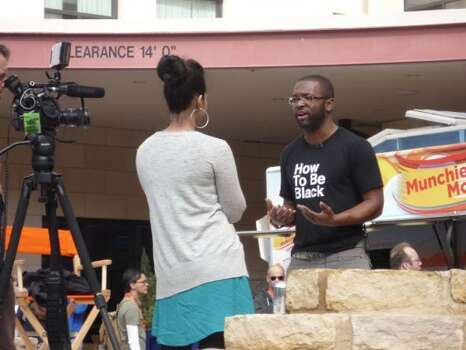 Comedian Baratune Thurston is interviewed on Day 3 of SXSW's Interactive Conference.