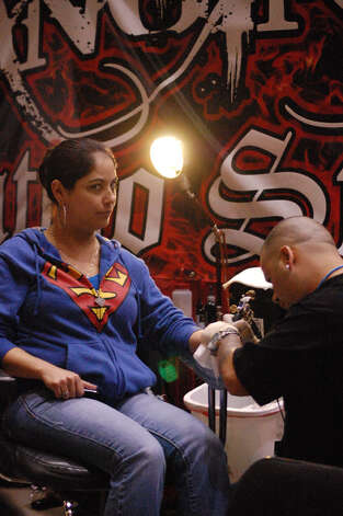9th annual Slinging Ink Tattoo Expo, Saturday, March10, 2012 Photo: Erica Mendez